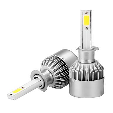 voordelige Autolampen-2pcs H1 Automatisch Lampen 36 W COB 3600 lm Koplamp Voor