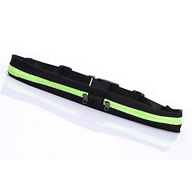 hesapli Çantalar-Unisex Çantalar Polyester Bel Çantası için Spor / Dış mekan İlkbahar yaz AçıkMavi / Mor / Kırmzı