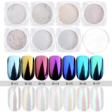 1 pcs Glitter Powder Brilhante Nail Art Design