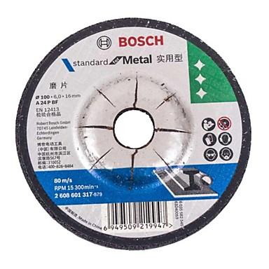 Bosch úhel leštění plechu-broušení kovu 100 * 16,0 * 6 mm broušení řezání / 10 ks