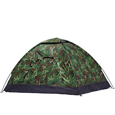 3-4 사람 텐트 싱글 캠핑 텐트 원 룸 용 캠핑 여행 CM