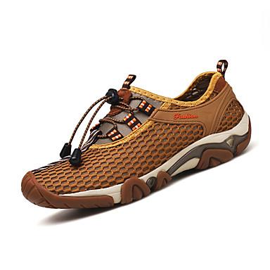 Herren Schuhe Tüll Frühling Sommer Leuchtende Sohlen Sportschuhe Wandern Für Grau Braun Armeegrün