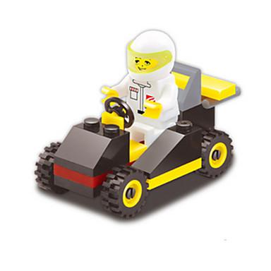 Játékautók / Építőkockák / Építőkocka minifigurák 33 pcs Tank / Trkaći auto Kreatív / DIY Versenyautó Uniszex Ajándék