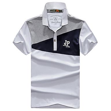 Homens Camiseta de Trilha Ao ar livre Respirável Blusas Acampar e Caminhar