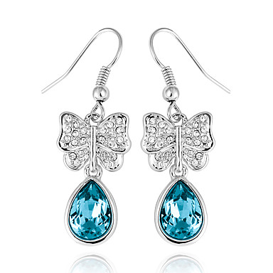 Damen Ohrringe Set Schmuck Modisch individualisiert Euramerican Krystall Aleación Schmuck Schmuck Für Hochzeit Party 1 Paar