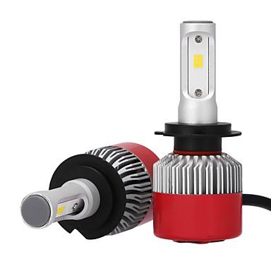 2pcs H7 Carro Lâmpadas 36W W LED Integrado 3600lm lm LED Lâmpada de Farol