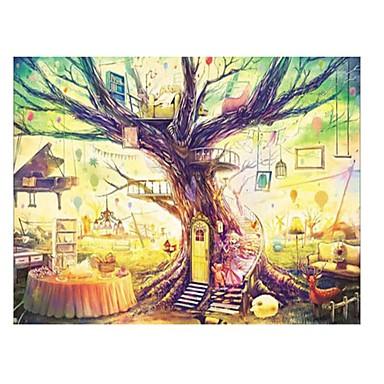 Puzzle Obdélníkový Zábava Dřevo Klasické