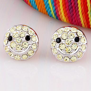Dámské Peckové náušnice Šperky Přizpůsobeno Módní Euramerican Štras Slitina Šperky Šperky Pro Svatební Párty