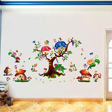 Autocolantes de Parede Decorativos - Etiquetas de parede de animal Animais Feriado Lazer Sala de Estar Quarto Cozinha Sala de Jantar