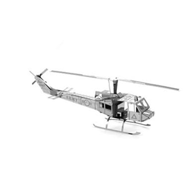 voordelige 3D-puzzels-3D-puzzels Helikopter Plezier Roestvast staal Klassiek Kinderen Unisex Speeltjes Geschenk