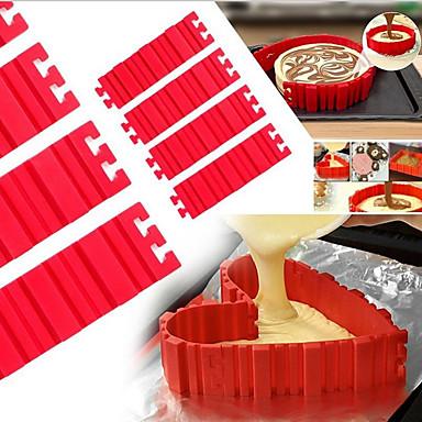 Bakeware tools Silica Gel Baking Tool Cake Cake Molds 1pc