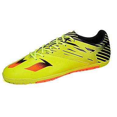 Homens sapatos Borracha Primavera Outono Conforto Tênis Futebol Cadarço para Ao ar livre Preto Prata Amarelo Branco/azul