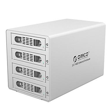 Orico-3549rus3 3,5 Zoll hohe Geschwindigkeit usb3.0 vier Scheibe Festplatte Schrank Überfall Silber