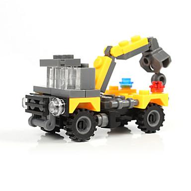 Leluautot Rakennuspalikat Minifiguurit Lelut Panssarivaunu Kaivinkone Muovit Unisex Pojat Pieces