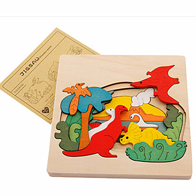 3D - Puzzle Holzmodell Spielzeuge Tiere Holz Unisex Stücke
