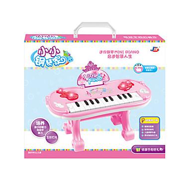 Toy Instruments Elektroninen näppäimistö Lelut Hauska Piano Muovit Pieces Lasten Unisex Syntymäpäivä Lahja