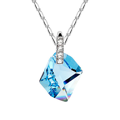 Dámské Řetízky Šperky Šperky Křišťál Slitina Módní Euramerican Šperky Pro Svatební Párty