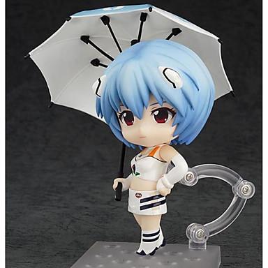 Anime Action-Figuren Inspiriert von NeonGenesis Evangelion Ayanami Rei PVC 10 CM Modell Spielzeug Puppe Spielzeug Unisex