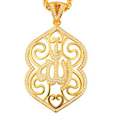 Dámské Přívěšky Kubický zirkon Geometric Shape Pozlacené Visací Šperky Pro Párty Denní Ležérní Sport