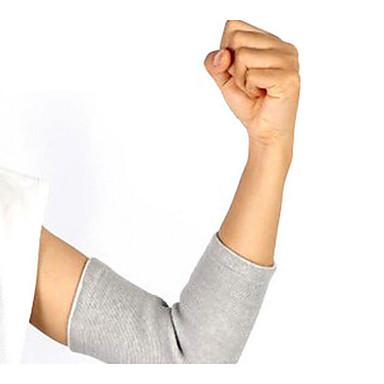 Cotoveleira para Corrida Exterior Adulto Anti-fricção Respirável Apoio conjunto Roupas para Lazer 1pç Cinzento