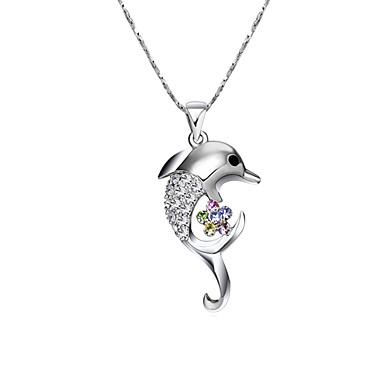 Dámské Zvíře Tvar Zvířecí Cute Style minimalistický styl Náhrdelníky s přívěšky Pozlacené Náhrdelníky s přívěšky Párty Narozeniny Denní