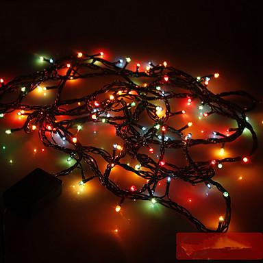 Leuchtgirlanden 100 LEDs Zufällige Farbe 110V