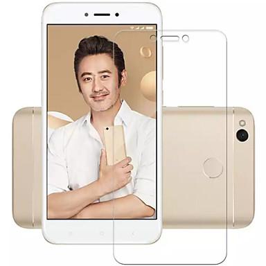Protetor de Tela XIAOMI para Xiaomi Redmi 4X Vidro Temperado 1 Pça. Protetor de Tela Frontal À prova de explosão Dureza 9H Alta Definição