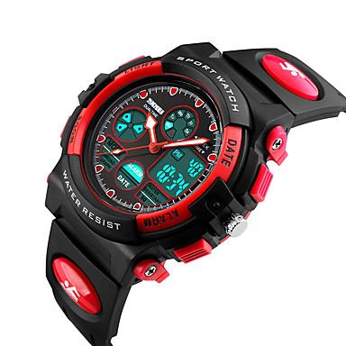 Chytré hodinky Voděodolné Sportovní Multifunkční Stopky Budík Chronograf Kalendář Hodinky s dvojitým časem Other Ne Slot pro kartu SIM
