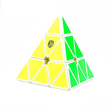 Rubik's Cube Cubo Macio de Velocidade Cubos mágicos Cubo Mágico Adesivo Liso Plásticos Triângulo Dom