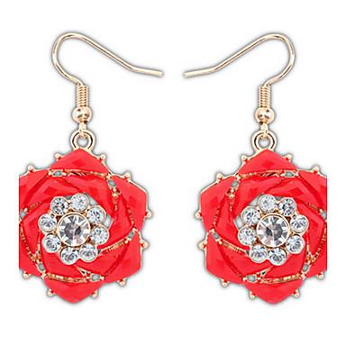 Dámské Peckové náušnice Visací náušnice Náušnice - Kruhy Šperky Přizpůsobeno Květinový Křížky a růžence Jedinečný design Logo Klasické