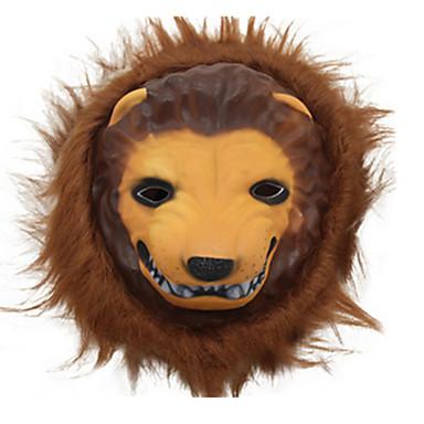 Halloween-Masken Tiermaske Spielzeuge Löwe PVC Zum Gruseln Stücke Unisex Geschenk