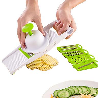 Jeden díl Brambor Mrkev Okurka Zázvorová Cutter & Slicer Škrabka & Struhadlo For u ovoce pro Vegetable Pro kuchyňské náčiní Plast