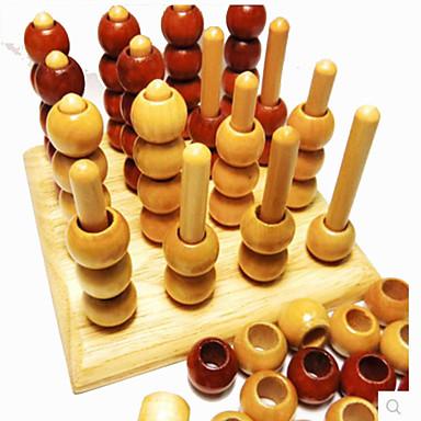 Brinquedos Brinquedos Quadrada Madeira Peças Unisexo Dom