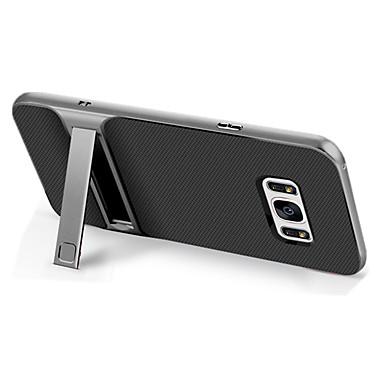 Capinha Para Samsung Galaxy S8 Plus / S8 Antichoque / Com Suporte Capa traseira Sólido Rígida TPU para S8 Plus / S8 / S7