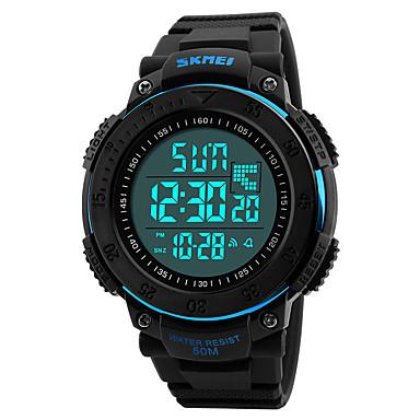 Relógio inteligente YYSKMEI1237 para Suspensão Longa / Impermeável / Multifunções / Esportivo Cronómetro / Relogio Despertador / Cronógrafo / Calendário / Dois Fusos Horários