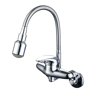 Armatur für die Küche - Traditionell / Modern Chrom Standard Spout / Pot Filler Mittellage / Messing