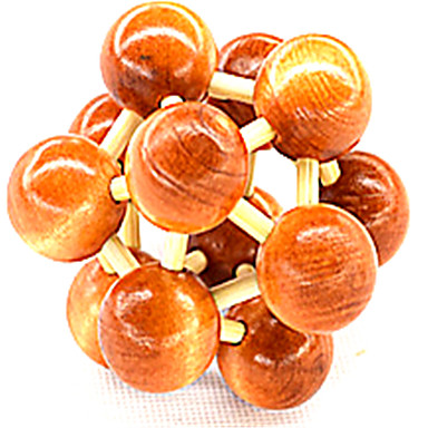 Blocos de Construir Bolas Quebra-Cabeças de Madeira Quebra-Cabeças Inteligentes Quebra-Cabeça Kong Ming Quebra-Cabeça Luban Brinquedos