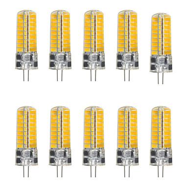 YWXLIGHT® 5pçs 5 W 450-500 lm G4 Luminárias de LED  Duplo-Pin T 72 Contas LED SMD 5730 Branco Quente / Branco Frio / 10 pçs