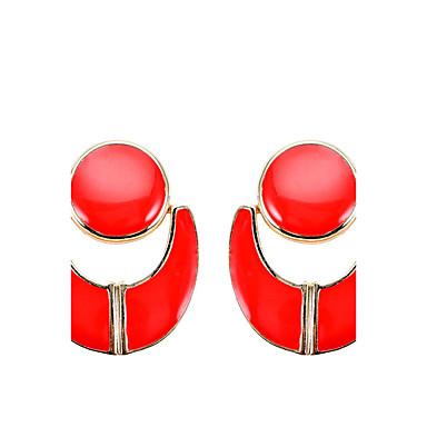 Damen Tropfen-Ohrringe Geometrisch Einzigartiges Design arylic Aleación Anderen Schmuck Party Alltag Normal Bühne Modeschmuck
