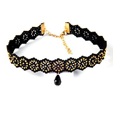 Dámské Obojkové náhrdelníky Šperky Šperky Kožené Slitina Módní Euramerican Šperky Pro Párty Zvláštní příležitosti 1ks