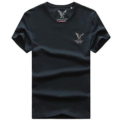 Homens Camiseta de Trilha Ao ar livre Secagem Rápida Respirável Camiseta Blusas Pesca
