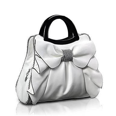 Damen Taschen Ganzjährig PU Umhängetasche mit für Weiß