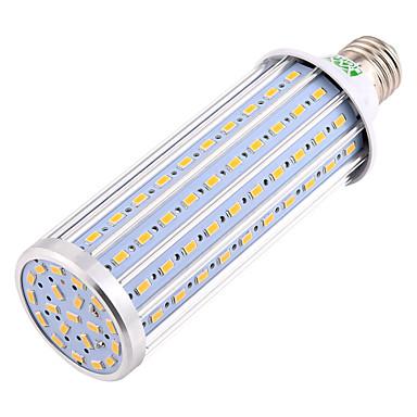 YWXLIGHT® 1pc 45W 4400-4500lm E26 / E27 נורות תירס לד T 140 LED חרוזים SMD 5730 דקורטיבי אור LED לבן חם לבן טבעי 85-265V