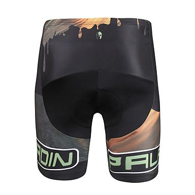 ILPALADINO Homens Bermudas Acolchoadas Para Ciclismo Moto Shorts / Calças Tapete 3D, Secagem Rápida, Design Anatômico Padrão, Moderno Lycra Roupa de Ciclismo / Elasticidade Alta