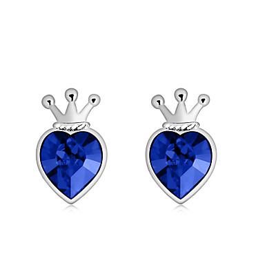 Dámské Náušnice Šperky Přizpůsobeno Módní Euramerican Křišťál Slitina Šperky Šperky Pro Svatební Párty