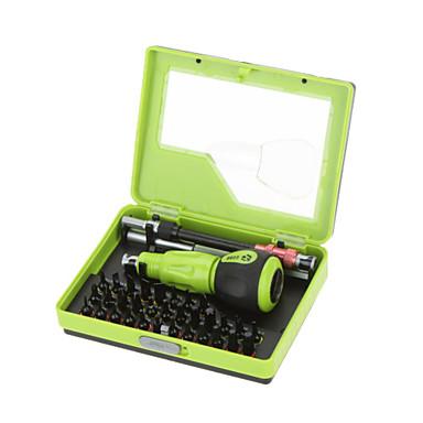 No.8923 34 em 1 conjunto de chaves de precisão multifunções, telefone celular pc notebook tv repair hand tool kit