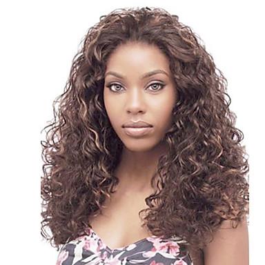Synthetische Lace Front Perücken Kinky Curly Afro-amerikanische Perücke Damen Spitzenfront Natürliche Perücke Lang Synthetische Haare