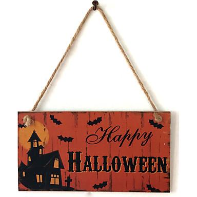Ocasião Especial / Halloween Material Madeira Decorações do casamento Férias Primavera/Outono/Inverno/Verão