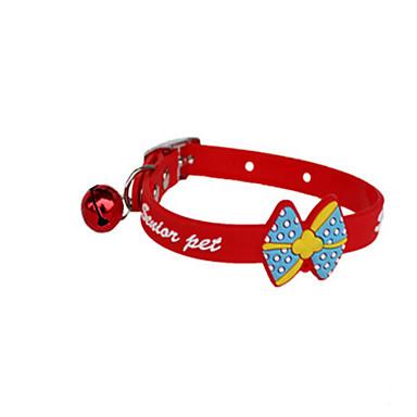 Hund Halsbänder Nette und Kuscheltiere Comic - Design Cartoon Design Silikon Rot Blau