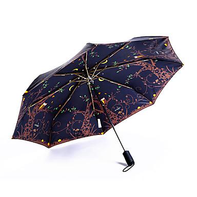 Sateenvarjo/päivänvarjo varten Päivittäiskäyttöön Eläinkuvio Pöllö varten